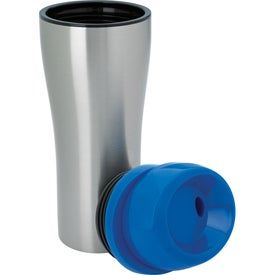 Stainless Tumbler with Sliding Lid with Your Slogan