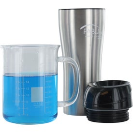 Imprinted Stainless Tumbler with Sliding Lid