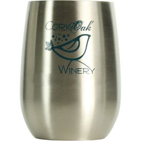 Stainless Steel Vino2Go Wine Tumbler (9 Oz.)