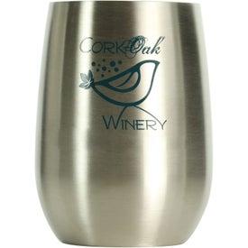 Stainless Steel Vino2Go Wine Tumbler (9 Oz.)
