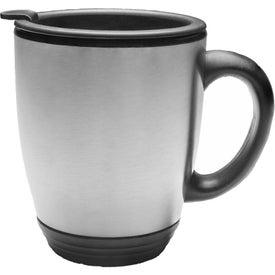 Steel Bistro Mug (16 Oz.)