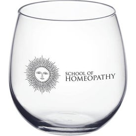 Stemless Red Wine Glass for Your Company