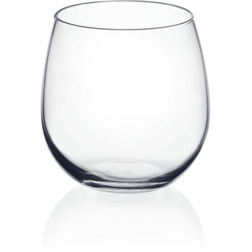 stemless red wine glass 16 5 oz logo drinkware and barware. Black Bedroom Furniture Sets. Home Design Ideas