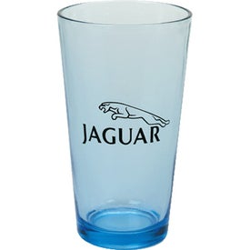 Personalized Blue Tall Glass