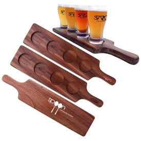"The 17"" Beer Tasting Tray"