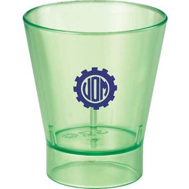 Custom The Island Shot Glass