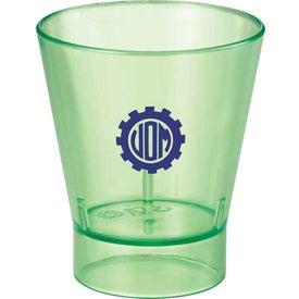 Custom The Island Shot Glass