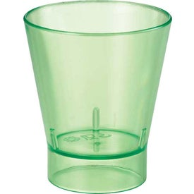 The Island Shot Glass for Your Company