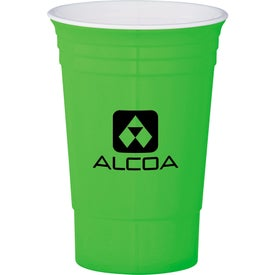The Party Cup for Advertising