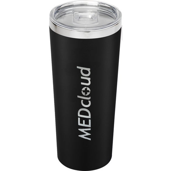 Black Thor Copper Vacuum Insulated Tumbler