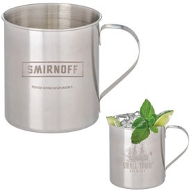 Tibacha Stainless Steel Moscow Mule Mugs (12 Oz.)