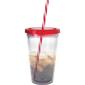 Translucent Candy Cane Tumbler Giveaways