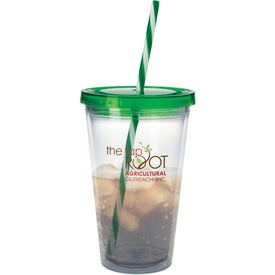 Translucent Candy Cane Tumbler for Your Company
