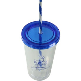 Translucent Candy Cane Tumbler for your School