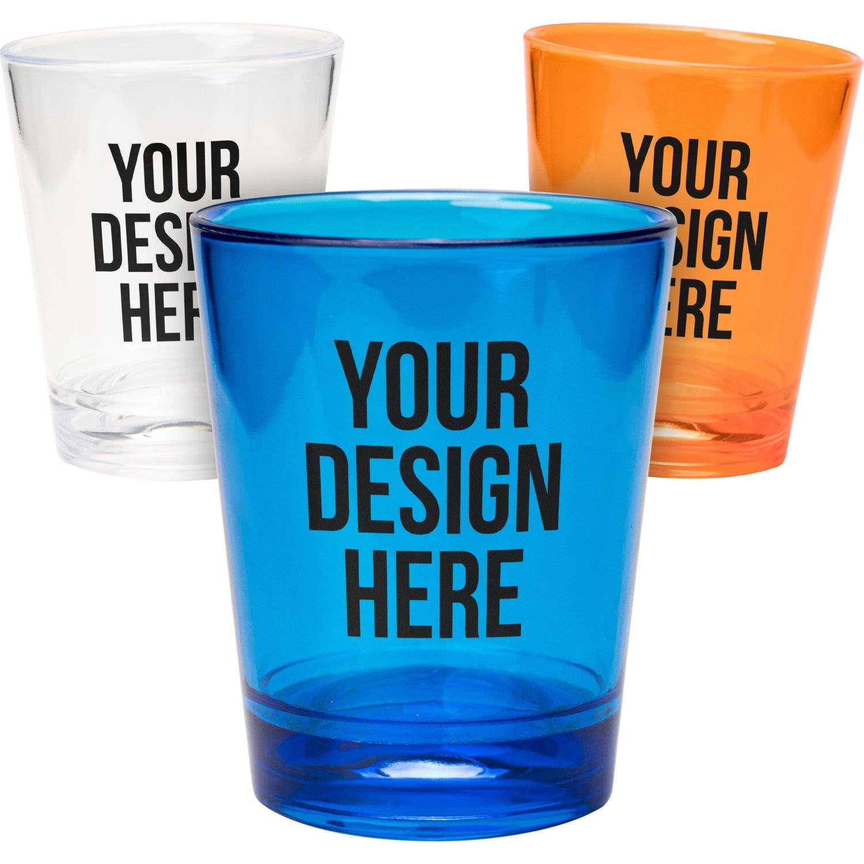 Translucent Plastic Shot Glass (1.5 Oz.)