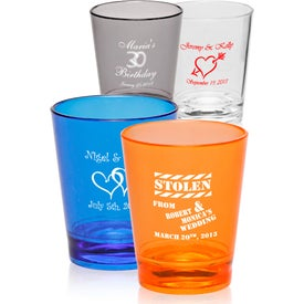 Translucent Plastic Shot Glasses (1.5 Oz.)