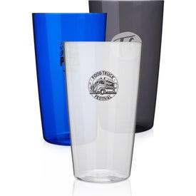 Translucent Tritan Plastic Beer Glass (20 Oz.)