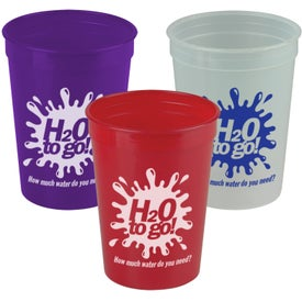 Advertising Transparent Stadium Cup