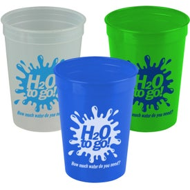 Transparent Stadium Cup (12 Oz.)