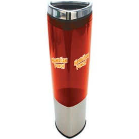 Triangular Shaped Tumbler Branded with Your Logo