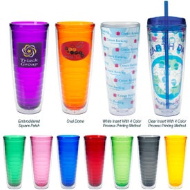 Tritan Double Wall Tumbler with Your Slogan