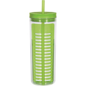 Branded Tumbler with Infusion Separator