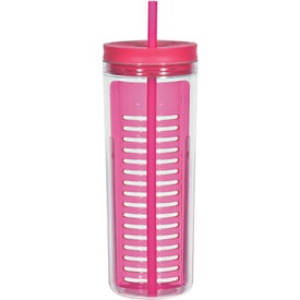 Personalized Tumbler with Infusion Separator