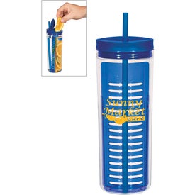 Tumbler with Infusion Separator for Marketing