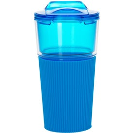 Tumbler with Sleeve for Advertising