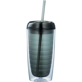 Twister Tumbler With Straw for Your Company