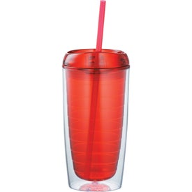 Custom Twister Tumbler With Straw
