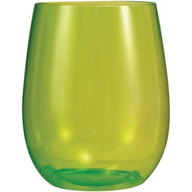 Vinello Stemless Wine Glass for Advertising