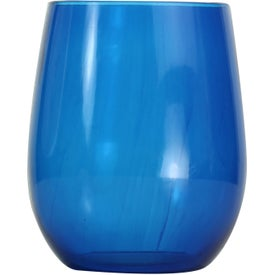 Vinello Stemless Wine Glass Printed with Your Logo