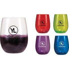 Vinello Stemless Plastic Wine Glass (12 Oz.)