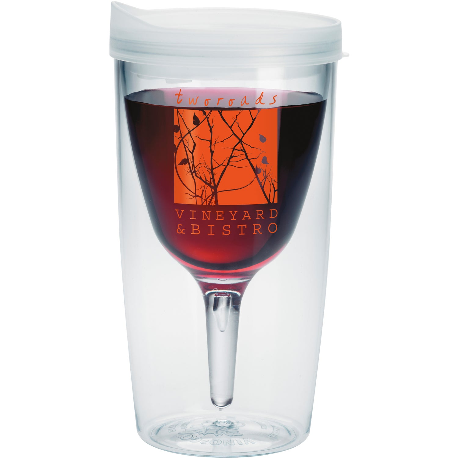 3b5b8d4eac4 CLICK HERE to Order 10 Oz. Vino2Go Tumblers Printed with Your Logo for  $3.48 Ea.