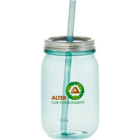 Vintage Mason Jar Tumbler for Marketing