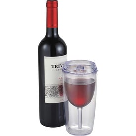 Viva Wine Tumbler for Promotion