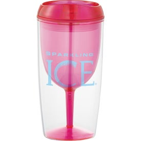 Imprinted Viva Wine Tumbler