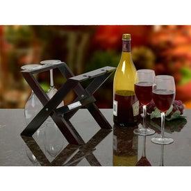Customized Wooden Wine Presenter