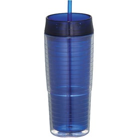 Logo Xander Tumbler With Straw