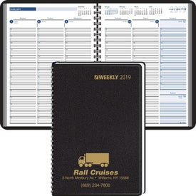 15 Minute Appointments Desk Planner Branded with Your Logo