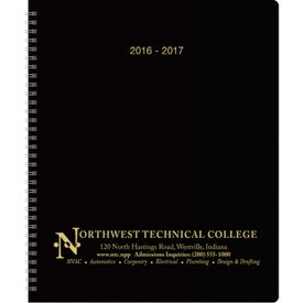 Academic Monthly Planner Printed with Your Logo