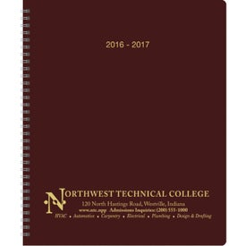 Academic Monthly Planner for Promotion