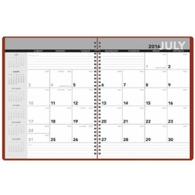 Printed Academic Monthly Planner