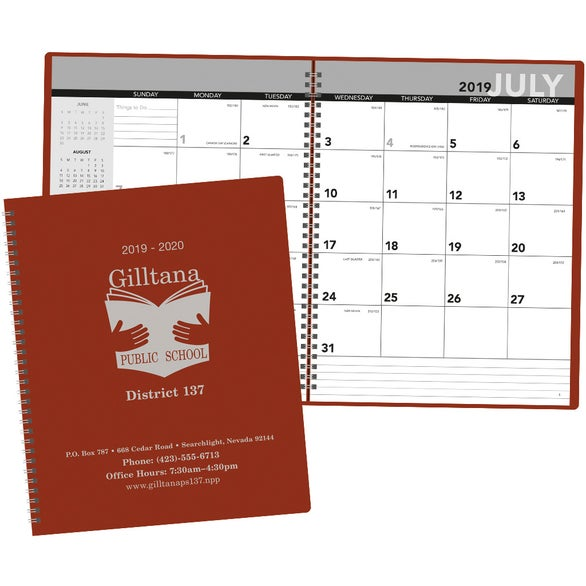 Large Academic Wall Calendar Calendar Template 2016