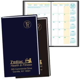 Academic Pocket Planner Monthly with Morocco Cover 2014