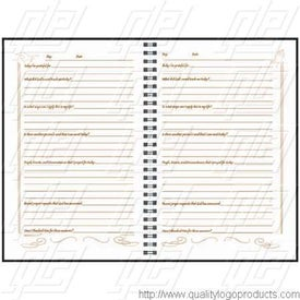 Address Book Printed with Your Logo