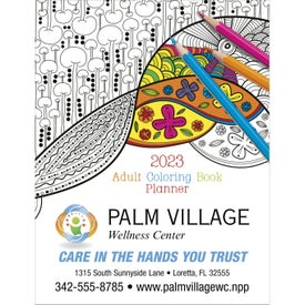 Adult Coloring Book Planner (2021)