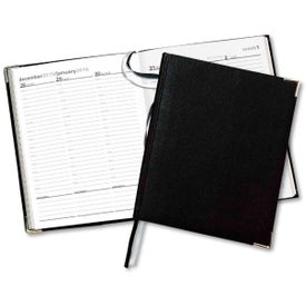 Bach International Weekly Desk Diary with Your Slogan