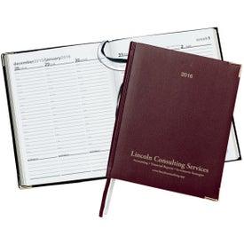 Bach International Weekly Desk Diary for Marketing